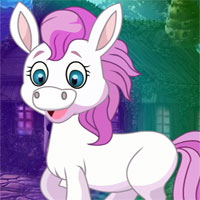 Free online flash games - G4K White Mare Rescue
