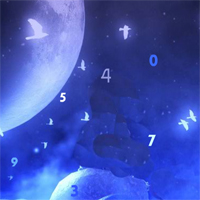 Free online html5 games - Night Moon Hidden Number game