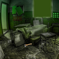 Free online flash games - Freaky Abandoned House Escape game - WowEscape