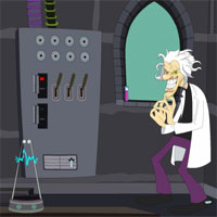 Free online flash games - Mad Scientist Lab Escape game - WowEscape