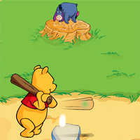 Free online flash games - Winnie The Poohs Home Run Derby game - WowEscape