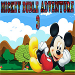 Free online flash games - Mickey Bubble Adventure 3 game - WowEscape