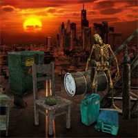 Free online flash games - 5nGames Can You Escape Ghost Town game - WowEscape