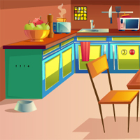 Free online flash games - Kitchen Door Escape 4 GenieFunGames game - WowEscape