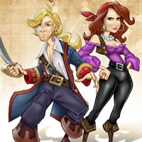 Free online flash games - Monkey Island Difference game - WowEscape