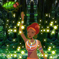 Free online flash games - Tribal Girl Forest Rescue game - WowEscape
