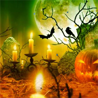 Free online flash games - Point And Click Halloween Stars game - WowEscape