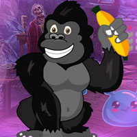 Free online flash games - G4K Elated Chimpanzee Escape