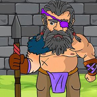 Free online flash games - G2J Spear Warrior Escape