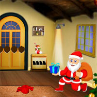 Free online flash games - Top10 Find The Santa Cake