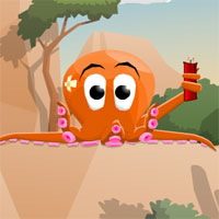 Free online flash games - Squidy ArcadeBomb game - WowEscape