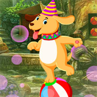 Free online flash games - G4K Circus Dog Escape  game - WowEscape