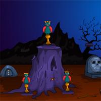 Free online flash games - Games4Escape Spooky Creature Rescue game - WowEscape