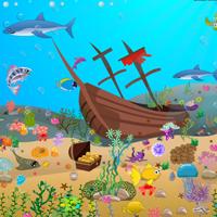 Free online flash games - Hidden Sea Animals game - WowEscape