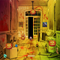 Free online flash games - Top10NewGames Halloween Vampire House Escape game - WowEscape