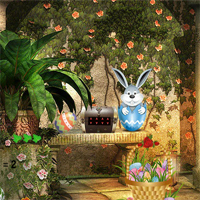 Free online flash games - 365Escape Magic Easter Garden game - WowEscape