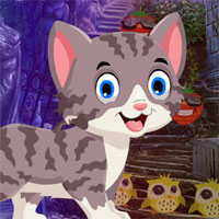 Free online flash games - G4k Find Alley Cat  game - WowEscape