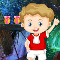 Free online flash games - Games4King Cute Naughty Boy Rescue game - WowEscape