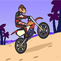 Free online flash games - Monkey Motocross Island 2 game - WowEscape