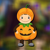 Free online flash games - AvmGames Cute Pumpkin Boy Rescue Escape game - WowEscape