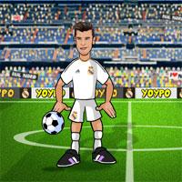 Free online flash games - Gareth Bale Head Football game - WowEscape