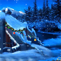Free online flash games - EnaGames The Frozen Sleigh-The House of Santa Esca game - WowEscape