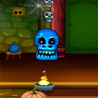 Free online flash games - G4E Halloween Witch Doors Escape game - WowEscape
