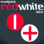 Free online flash games - Red White Slice Levelpack game - WowEscape