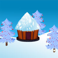 Free online flash games - AvmGames Santa Rescue From Snow Hut game - WowEscape