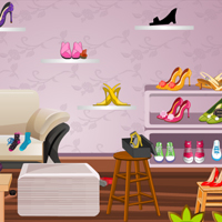 Free online flash games - Shoes Shop Check-up game - WowEscape