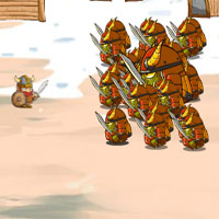 Free online flash games - Monster Warriors 4 game - WowEscape