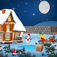 Free online flash games - Find The Christmas Cake game - WowEscape