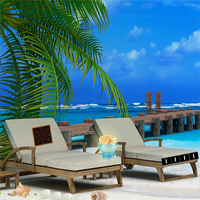 Free online flash games - 365Escape Beach Resort game - WowEscape