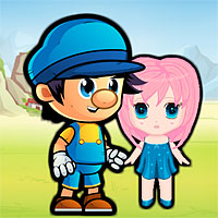 Free online flash games - Blue Boy Save Girlfriend game - WowEscape