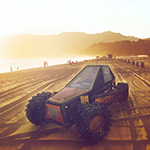 Free online flash games - Beach Buggy Transporter game - WowEscape