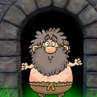 Free online flash games - G2J Dwarf Grandpa Escape