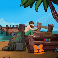 Free online flash games - Castaway Escape game - WowEscape