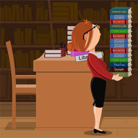 Free online flash games - The Librarian game - WowEscape