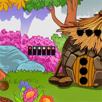 Free online flash games - G2J Boy Escape From Hut House game - WowEscape
