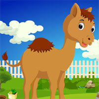 Free online flash games - G4K Cartoon Camel Rescue game - WowEscape