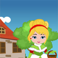 Free online flash games - Games4King Christmas Princess Rescue game - WowEscape