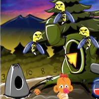 Free online flash games - PencilKids  Monkey Go Happy Stage 316