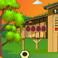Free online flash games - G2J Wooden Box Gold Coin Escape