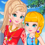 Free online flash games - Mothers Day Matching Dress game - WowEscape