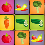 Free online flash games - Vegetables Memo game - WowEscape