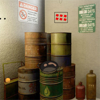 Free online flash games - GFG Oil Depository Room Escape