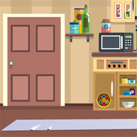 Free online flash games - Kitchen Door Escape 2 game - WowEscape