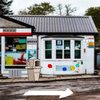 Free online flash games - GFG Rural Petrol Station Rescue game - WowEscape