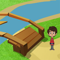 Free online flash games - Games2Jolly Small Boy River Escape game - WowEscape