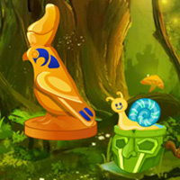 Free online flash games - Fantasy Golden Bird Escape game - WowEscape